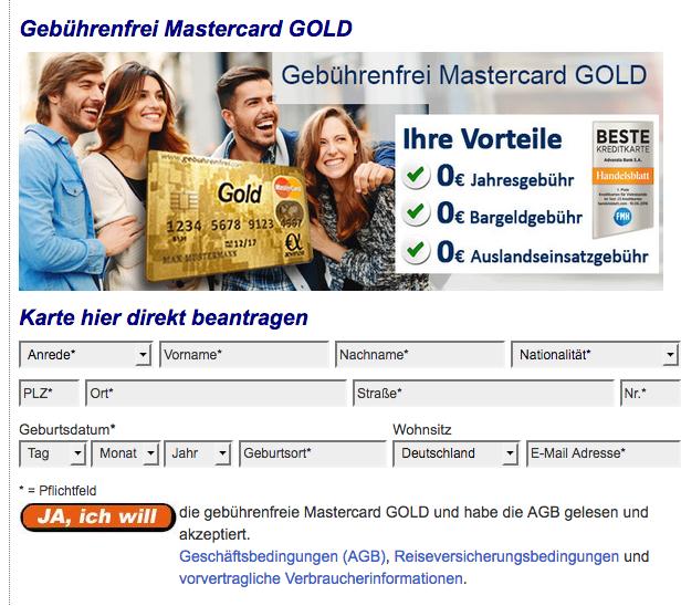 advanzia bank kreditkarte online beantragen bedingungen ablauf etc. Black Bedroom Furniture Sets. Home Design Ideas