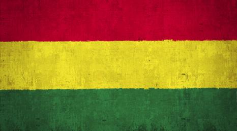Bolivien Flagge