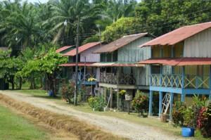 Bungalows auf Costa Rica