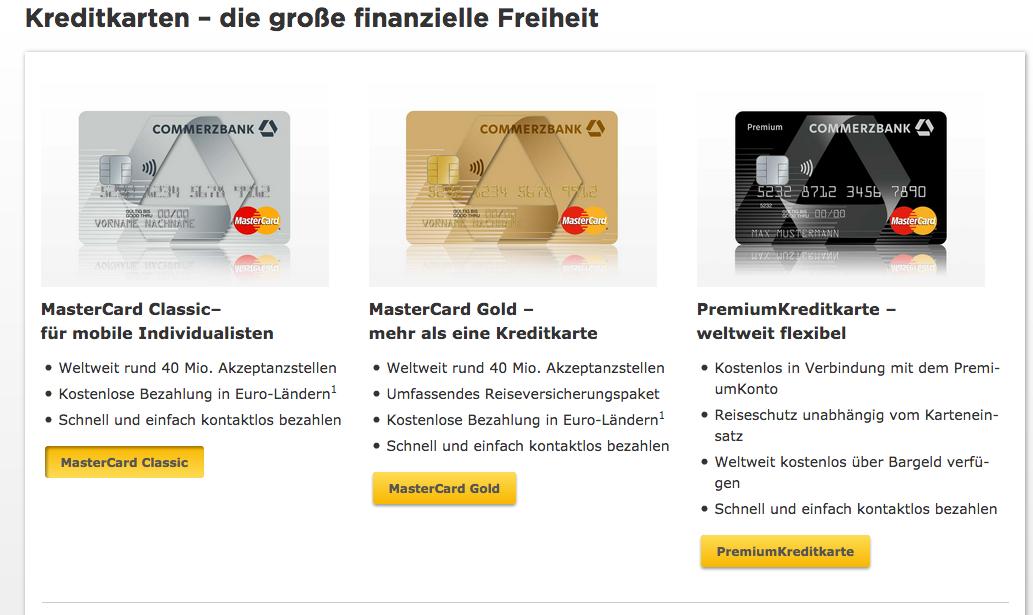 commerzbank kreditkarte online beantragen ablauf dauer bedingungen. Black Bedroom Furniture Sets. Home Design Ideas