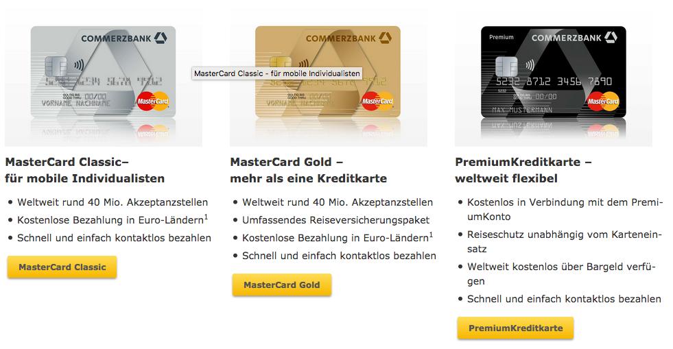 Commerzbank kreditkarten im vergleich infos zum commerzbank das sind die kreditkarten reheart Image collections