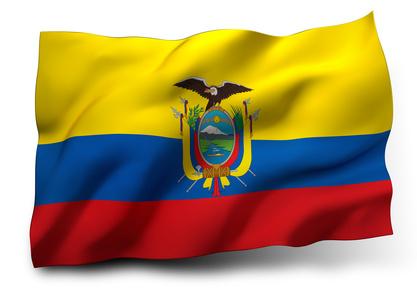 Ecuador Flagge