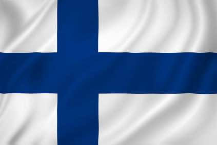 Finland Flagge
