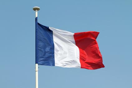Frankreich Flagge