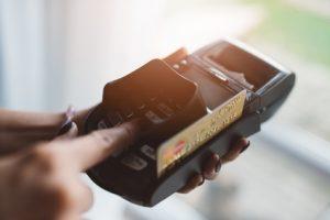 Gerät für Kartenzahlung