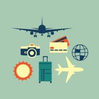Reise mit Kreditkarte