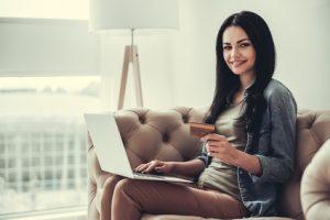 Online-Einkäufe per Kreditkarte
