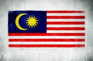 Malaysia Flagge