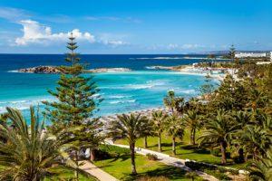 Meeresküste von Zypern