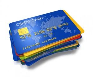 mehrere Kreditkarten