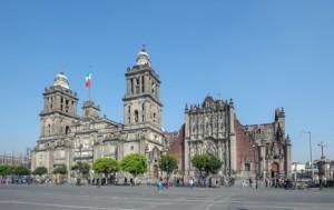 Mexiko City Kathedrale