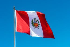 Peru Flagge