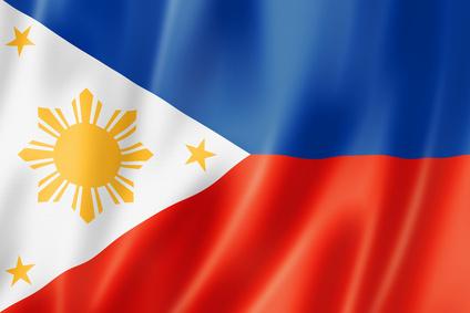 Philippinen Flagge