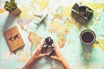 Planung Reise ins Ausland