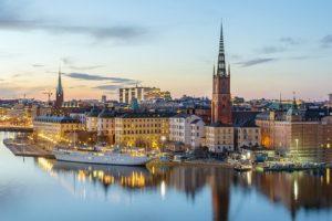 Stickholm in Schweden