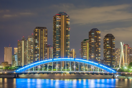 Tokio Stadtblick